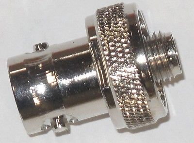 BNC Female to SMA Female Jack Adapter Connector for HT Radio