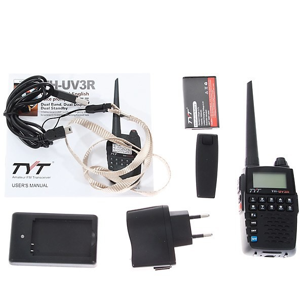 TYT TH-UV3R Dual Band Micro Radio 2m/440(136-174/400-480)